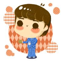 Chibi George in PJ's by Elizabeth159