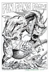FIN FANG FOOM Splash Recreation ST #89 HAZLEWOOD by DRHazlewood