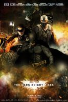 The Dark Knight Rises Movie Poster by Gato-Chico