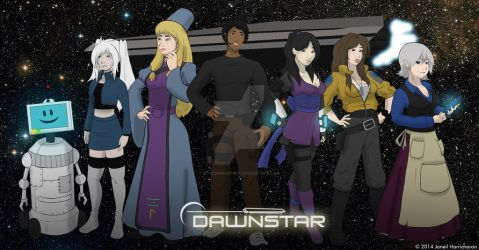 Dawnstar Title Banner - 2014 by Blueoriontiger