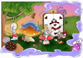 alice in wonderland by NeJeD