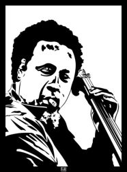 Charles Mingus by PsykoHilly