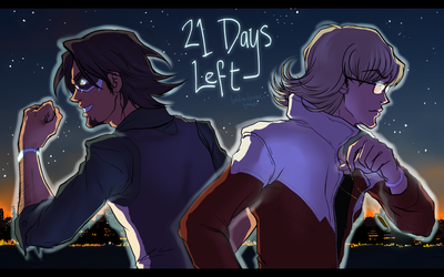 Tiger and Bunny - Day 21 by tahliadenae