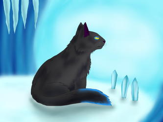 Ice cave by NightIceCat
