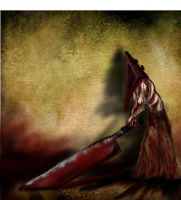 Pyramid Head-Silent Hill by Angelii-D
