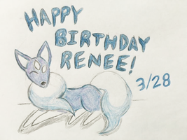 Happy Birthday To Renee!! by Revenir-Ghoul
