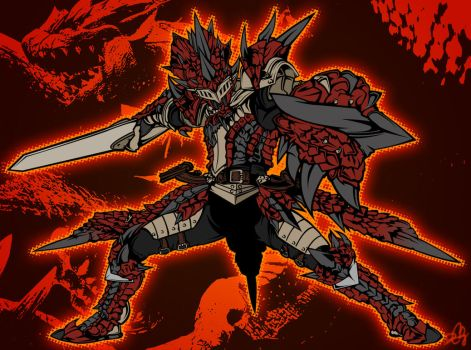Rathalos Armor by DCGray