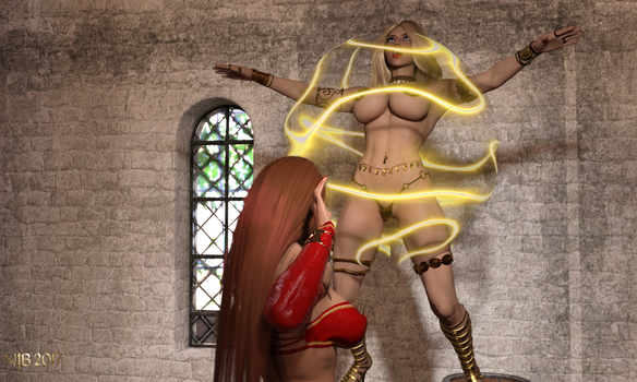The Enchantress and the Warrior 211 by Nathanomir