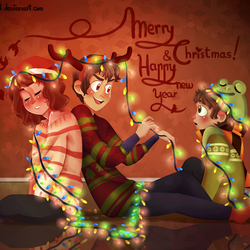 Merry Christmas n' Happy new year! by Cetrece