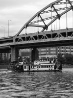 Allegheny Riverboat by lupiniastudios