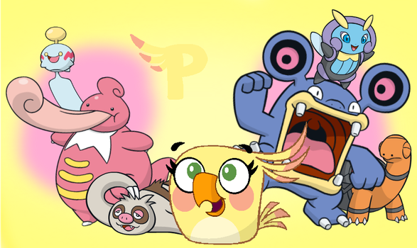 Poppy's Pokemon Team by jared33