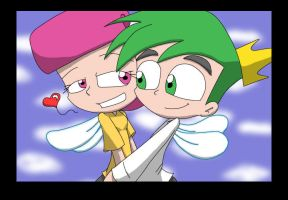 FOP: Cosmo and Wanda colored by Hellbond