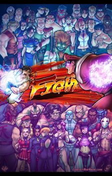 Street Fighter by AdamWithers