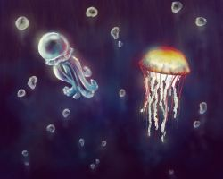 Jellyfish by feelthesky