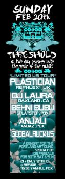 plastician threshold flyer by penpointred