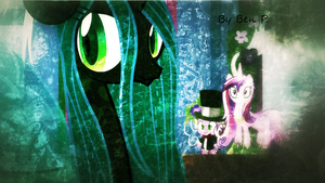 Queen Chrysalis by DAbronyBPHI