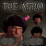 The Afro - Jiggleboned Hat for TF2 Heavy by Pampers-Rocker