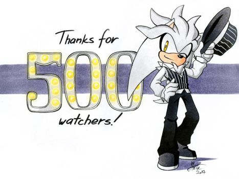 Thanks for 500+ watchers! by FinikArt