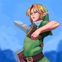Young Link by YeeDee