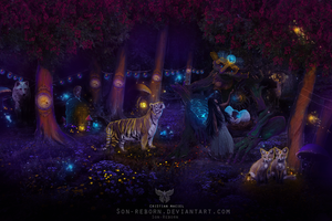 Magic Forest by Son-Reborn