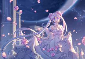 Princess Serenity by NorthernMei