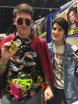 Me and Arryn Zech by Scarce-Monics