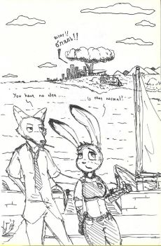 somewhere near Zootopia... by Apotheosi