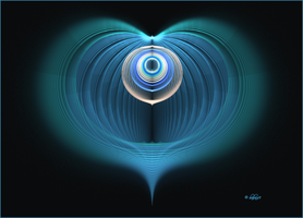 Blue Heart by baba49