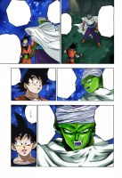 Dragon Ball Super Goku Piccolo  Chapter 31 Colors by Amanomoon