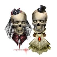 Jhon and Mary by vampirekingdom