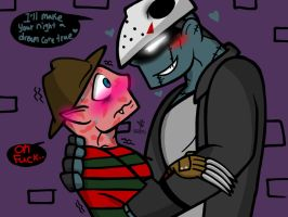 Dream Come True? (Freddy and Jason Yaoi) by YaoiLover113