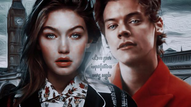 Summer and Harry|Manip Gigi Hadid Harry Styles by ColorsMetal