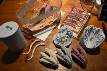 Medusa Mold making update by firecrow78