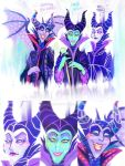 Maleficent Trio ( Concept Art )