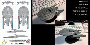 U.S.S.Titan Eaglemoss Prototype by stourangeau