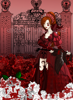 Twisted Tale Queen of Hearts by BossyGirl
