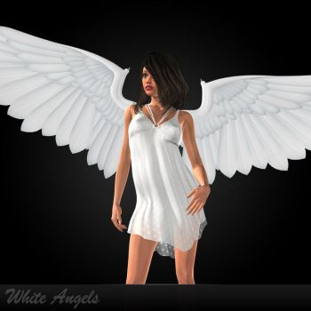 White Angels by DarkFantasy69