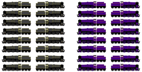 BWBA Black 5s (Wheel Movement) by SodorAndAmerican