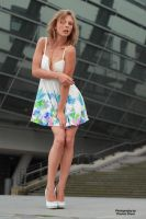 Anna in a summer dress 14 by PhotographyThomasKru