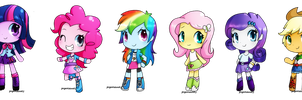 Equestria Girls by PegaSisters82