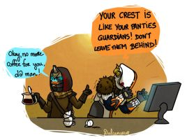 Someone calm Shaxx by Dulcamarra