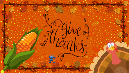Give Thanks by LoloAlien