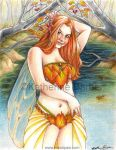 Autumn Faerie by kitttykat