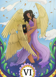 Coco Tarot 6 The Lovers by Eurazba