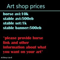 Prices by wsl30horselover10
