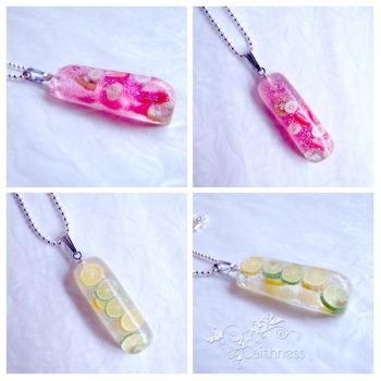 Juicy long pendants by caithness-shop