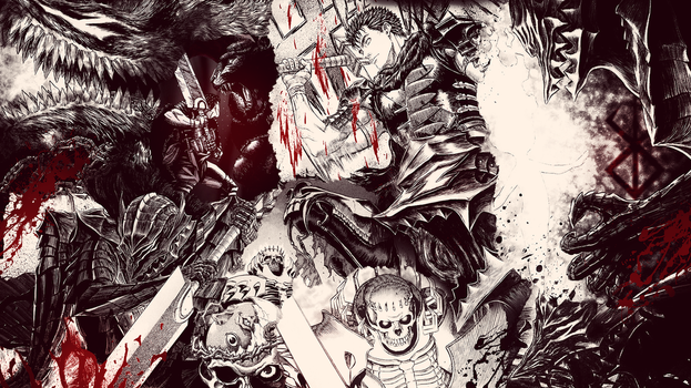 Berserk Wallpaper by The--Hollow