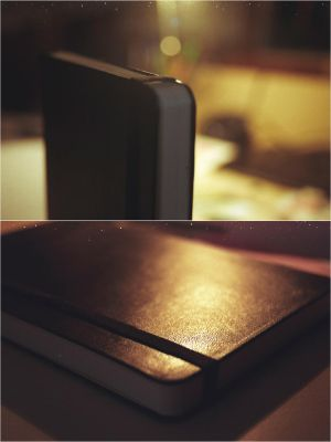 My moleskine by Thpx