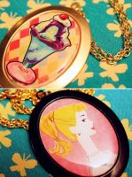New Retro Kitsch Necklaces by asunder
