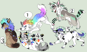 Canine Adopts July (Open) (OTA) by Kainaa